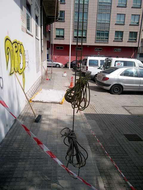 Seguridad colectiva. Alturas Castro. A Coruña